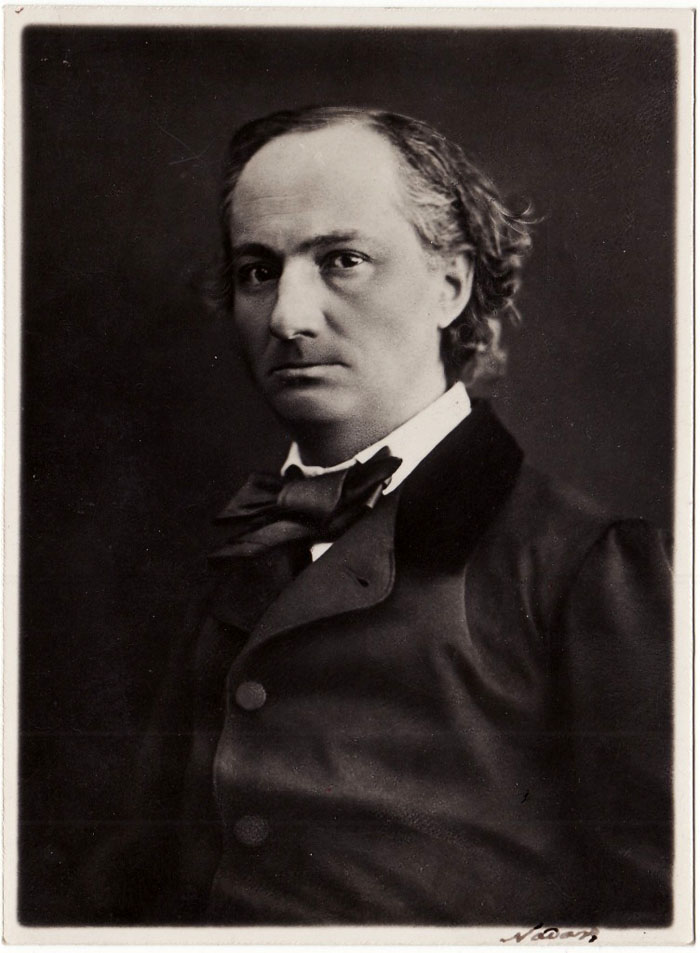 BAUDELAIRE Charles – Photographie Signée