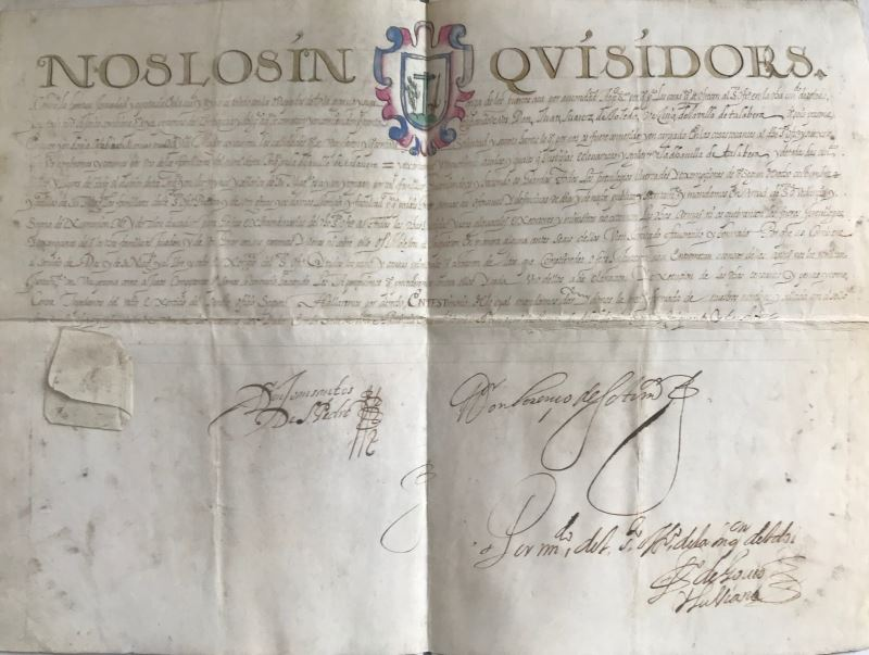 INQUISITION – Manuscrit Tolède 1653