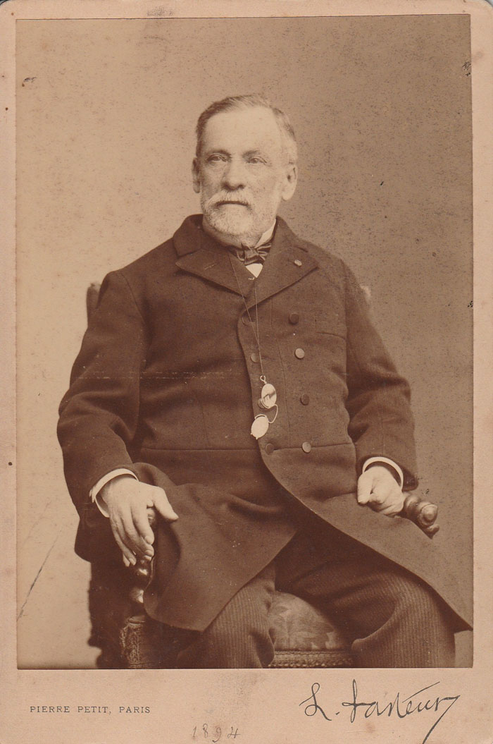 PASTEUR Louis – Photo Originale Signée