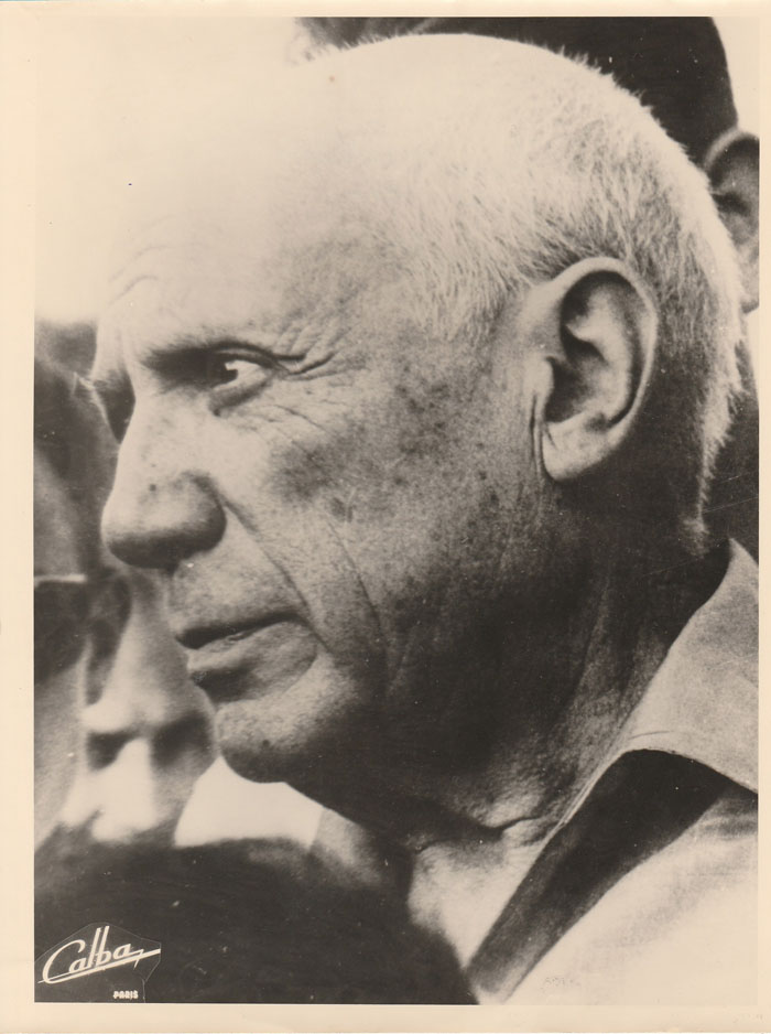 PICASSO Pablo – Photo Originale Signée